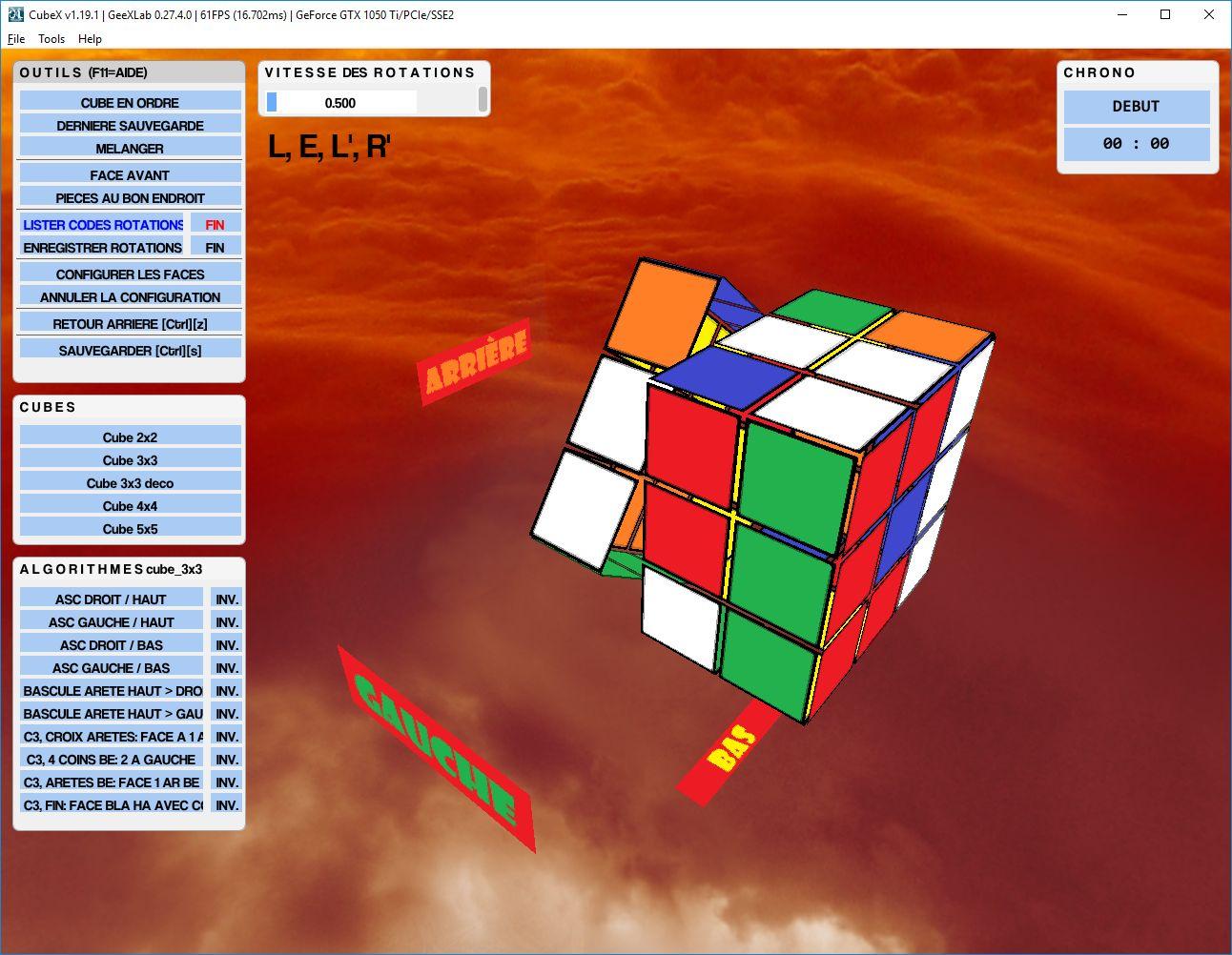 Cube 3x3 déco