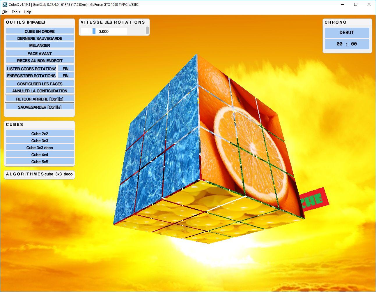 Puzzle 3D cubique