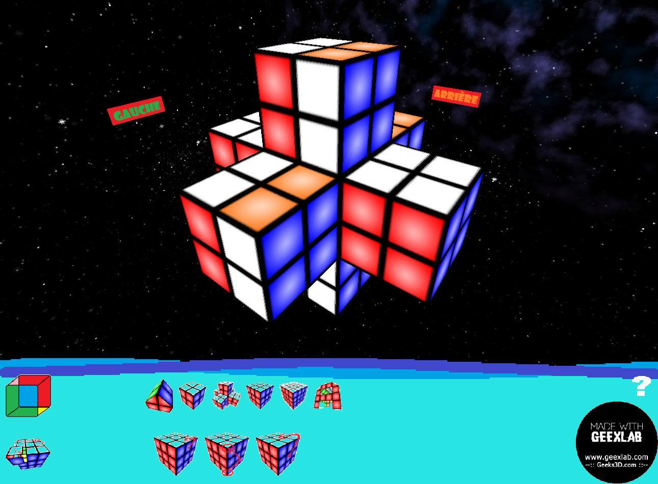 Cubex multiformes croix