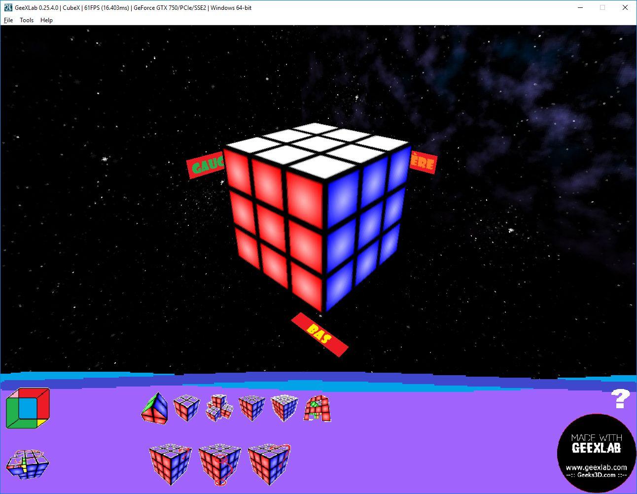 Cubex multiformes 3x3