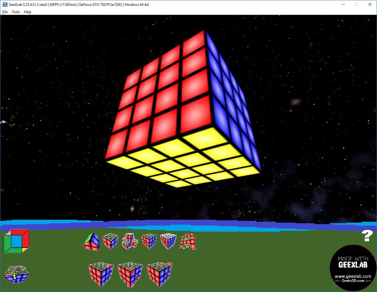 Cubex multiformes 4x4