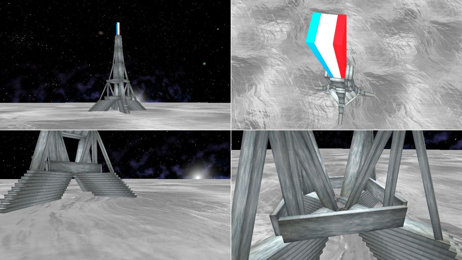 Tour Eiffel Kapla 3d