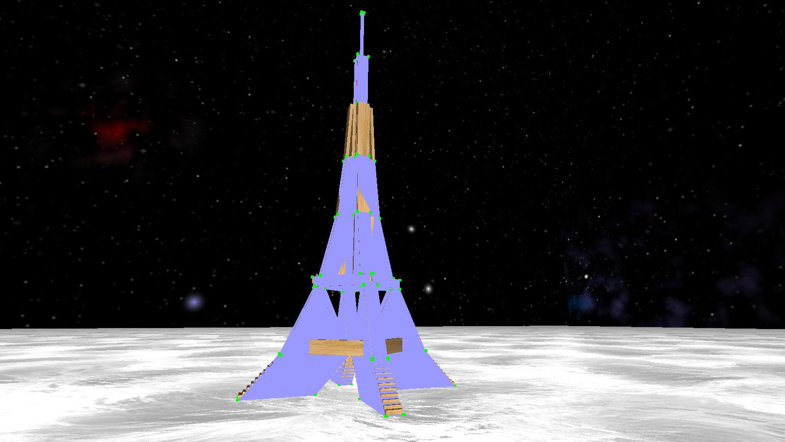 Tour Eiffel enveloppée