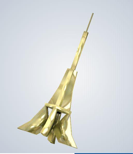 Tour Eiffel habillée