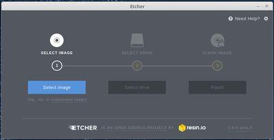 Etcher screenshot