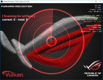 FurMark ROG Edition screenshot