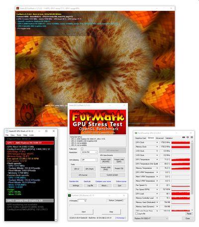FurMark screenshot