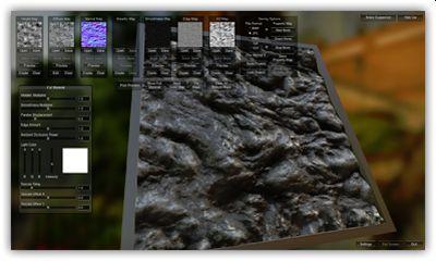 Materialize screenshot