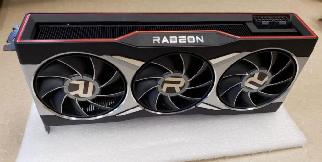Radeon RX 6000 triple-fan board