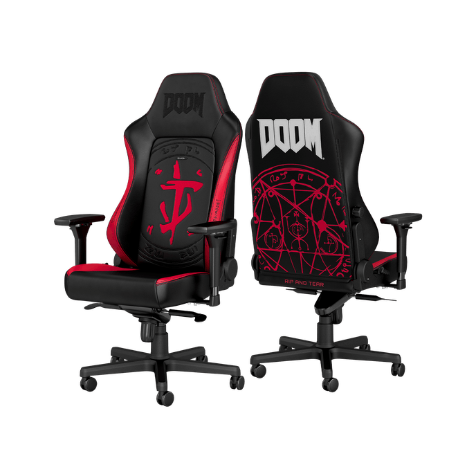 Noblechairs HERO DOOM Edition Gaming Chair
