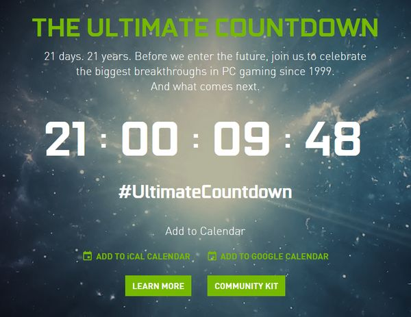 NVIDIA - The Ultimate CountDown